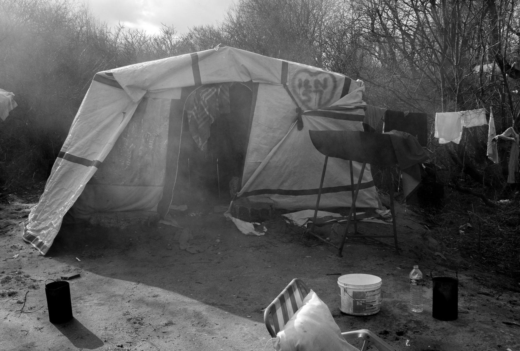 La tente de Taha